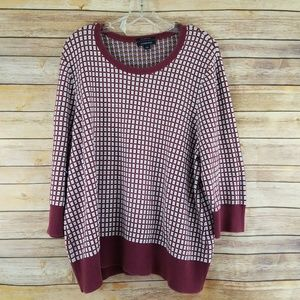 Lands End Pullover Cotton Sweater
